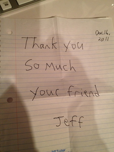 From Jeff