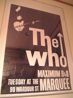 THE WHO ポスター 1